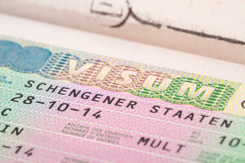 Visa for schengen countries