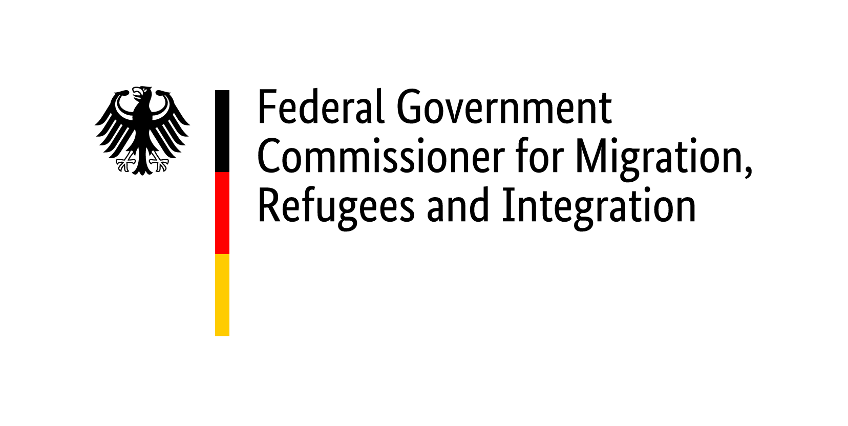 Logo Federal Government Commissioner for Migration, Refugees and Integration